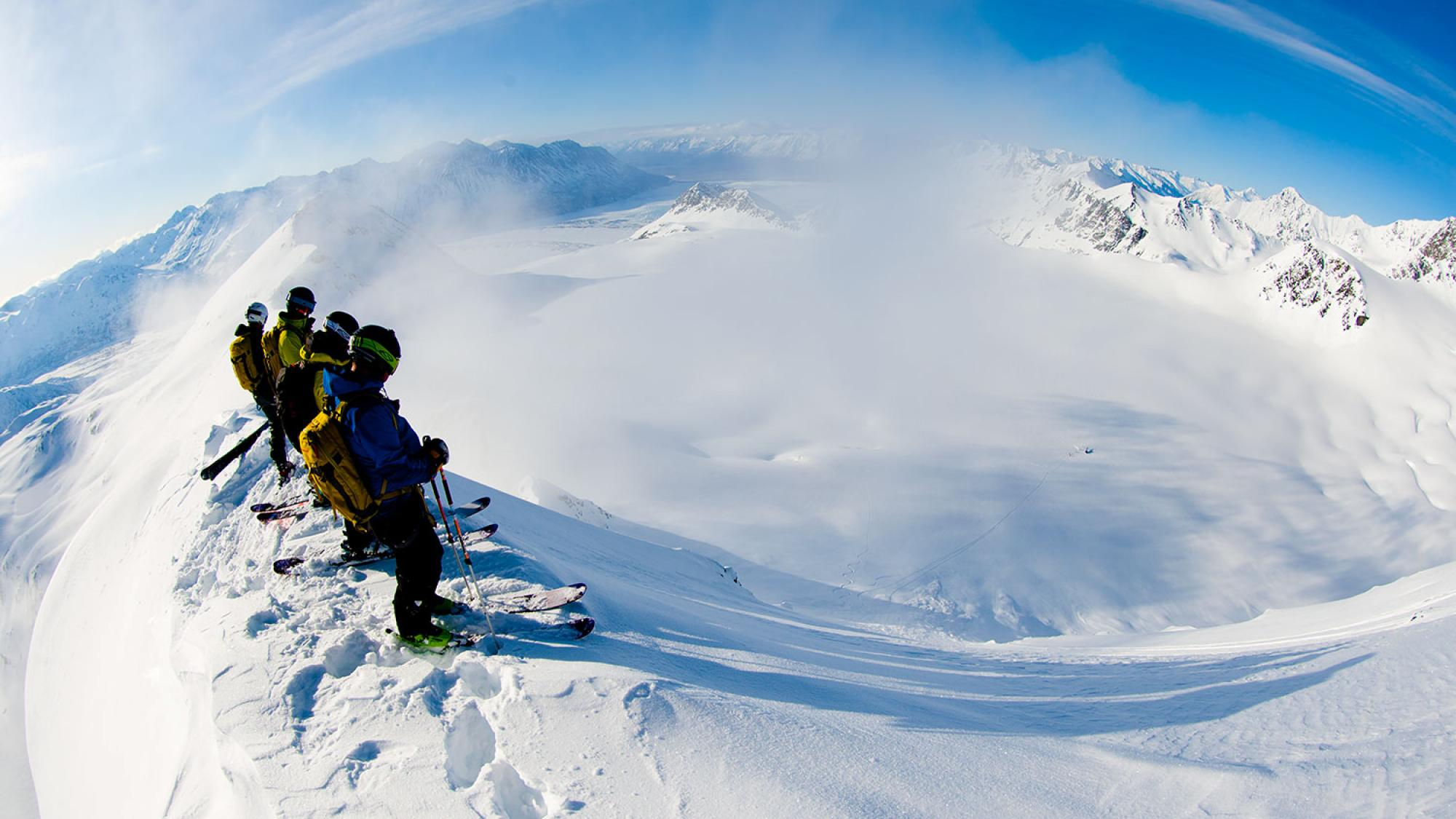 Chugach Powder Guides, CPG, Girdwood, Alaska, Heli Ski, Heli Skiing