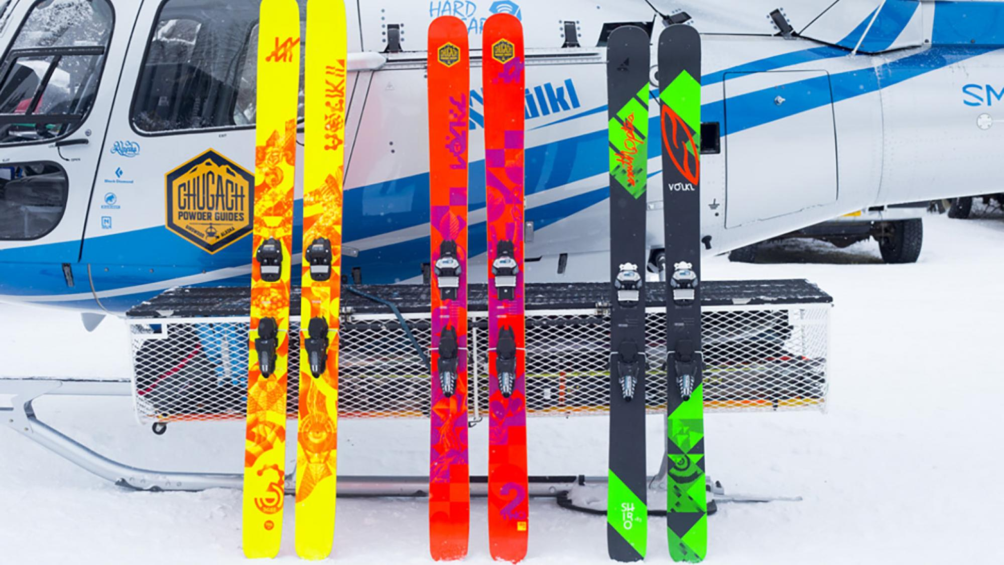 CPG's demo line of Volkl Skis