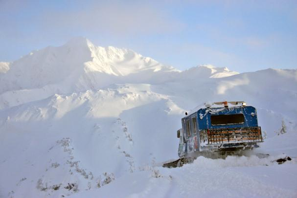 Endless snowcat skiing with CPG