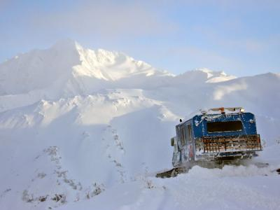 CPG Chugach Powder Guides - snowcat deep powder tree skiing in Girdwood, Alaska